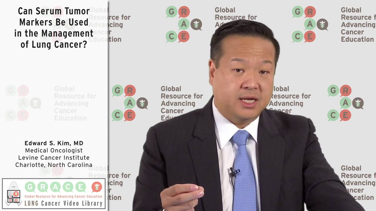 Embedded thumbnail for Lung Cancer Video Library - Can Serum Tumor Markers Be Used in the Management of Lung Cancer?