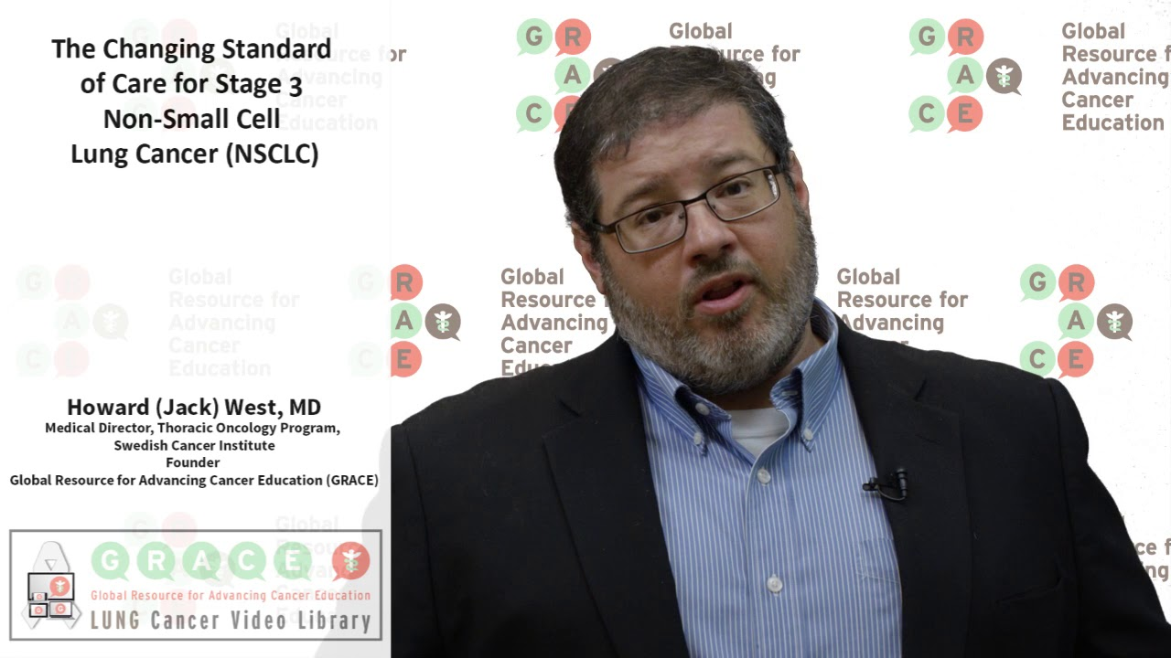Embedded thumbnail for Lung Cancer Video Library -  2017 Changing Standard of Care for Stage 3 Non-Small Cell Lung Cancer (NSCLC)
