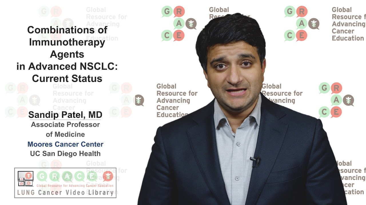 Embedded thumbnail for Lung Cancer Video Library - Combinations of Immunotherapy Agents in Advanced NSCLC: Current Status