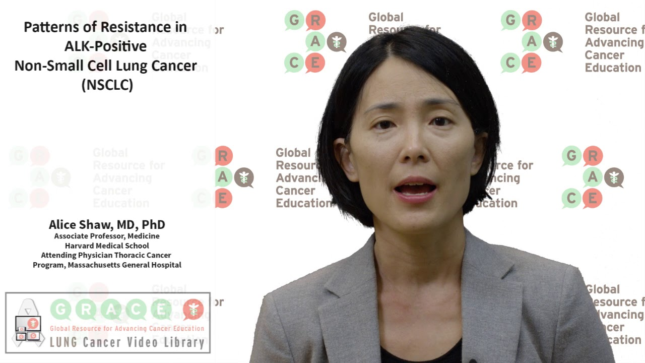 Embedded thumbnail for Lung Cancer Video Library - Patterns of Resistance in ALK Positive NSCLC