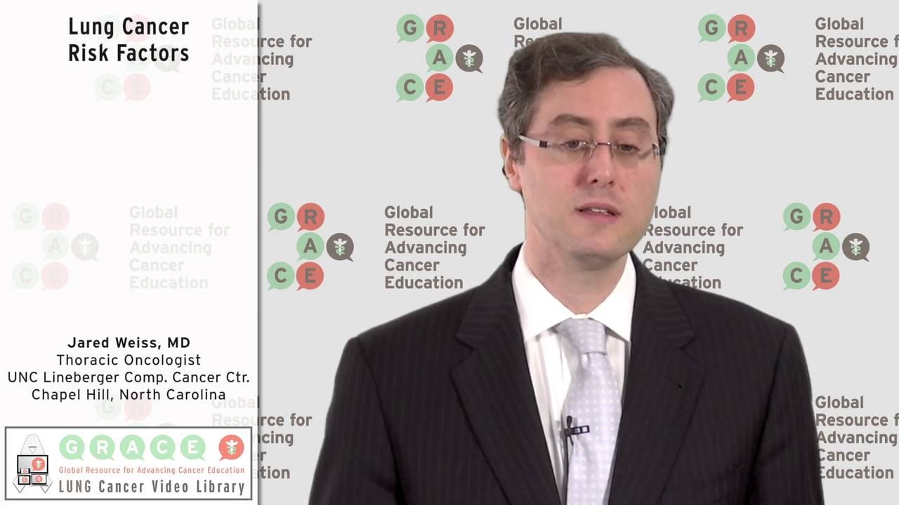 Embedded thumbnail for Lung Cancer Video Library - Lung Cancer Risk Factors