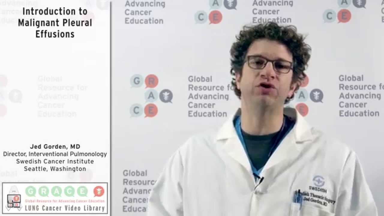 Embedded thumbnail for Introduction to Malignant Pleural Effusions