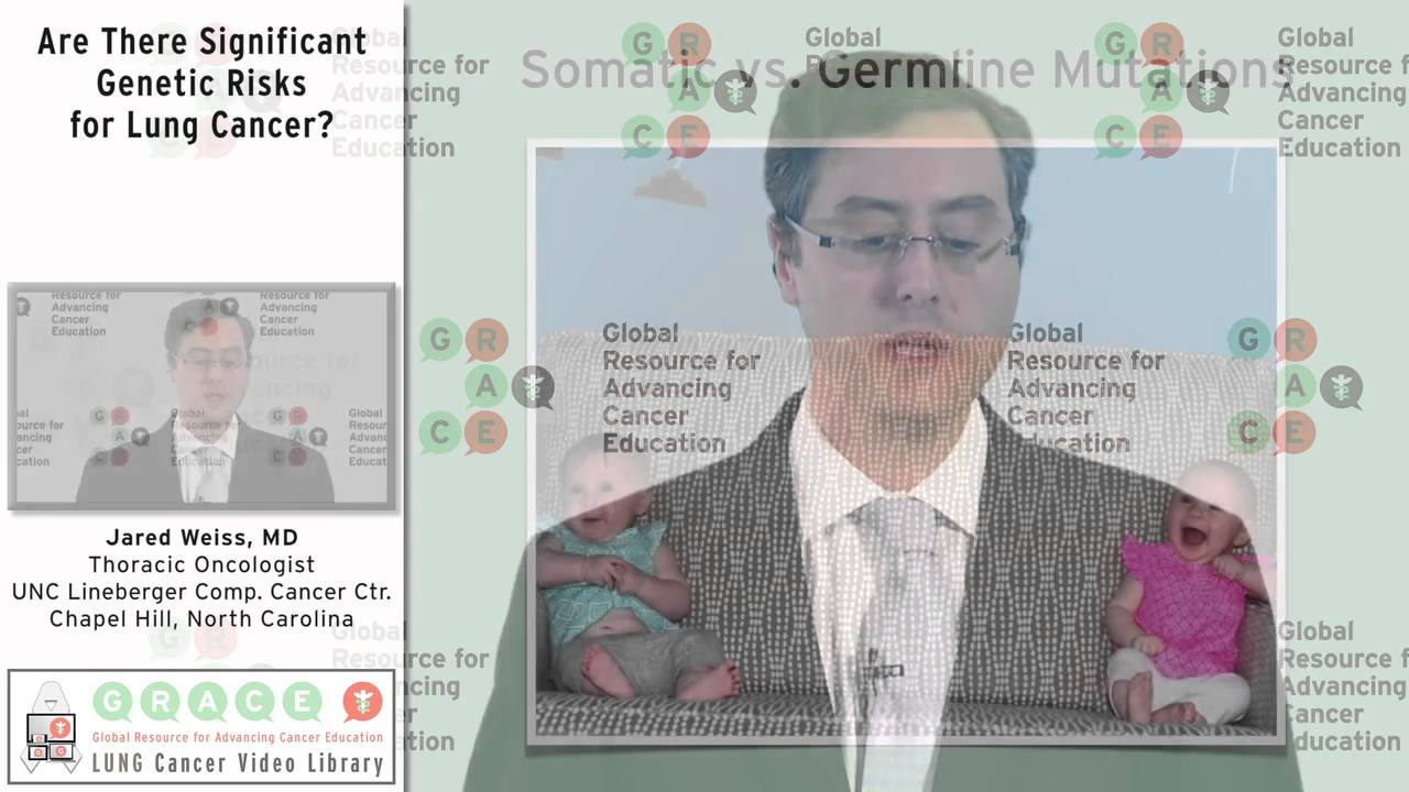 Embedded thumbnail for Lung Cancer Video Library - Are There Significant Genetic Risks for Lung Cancer?