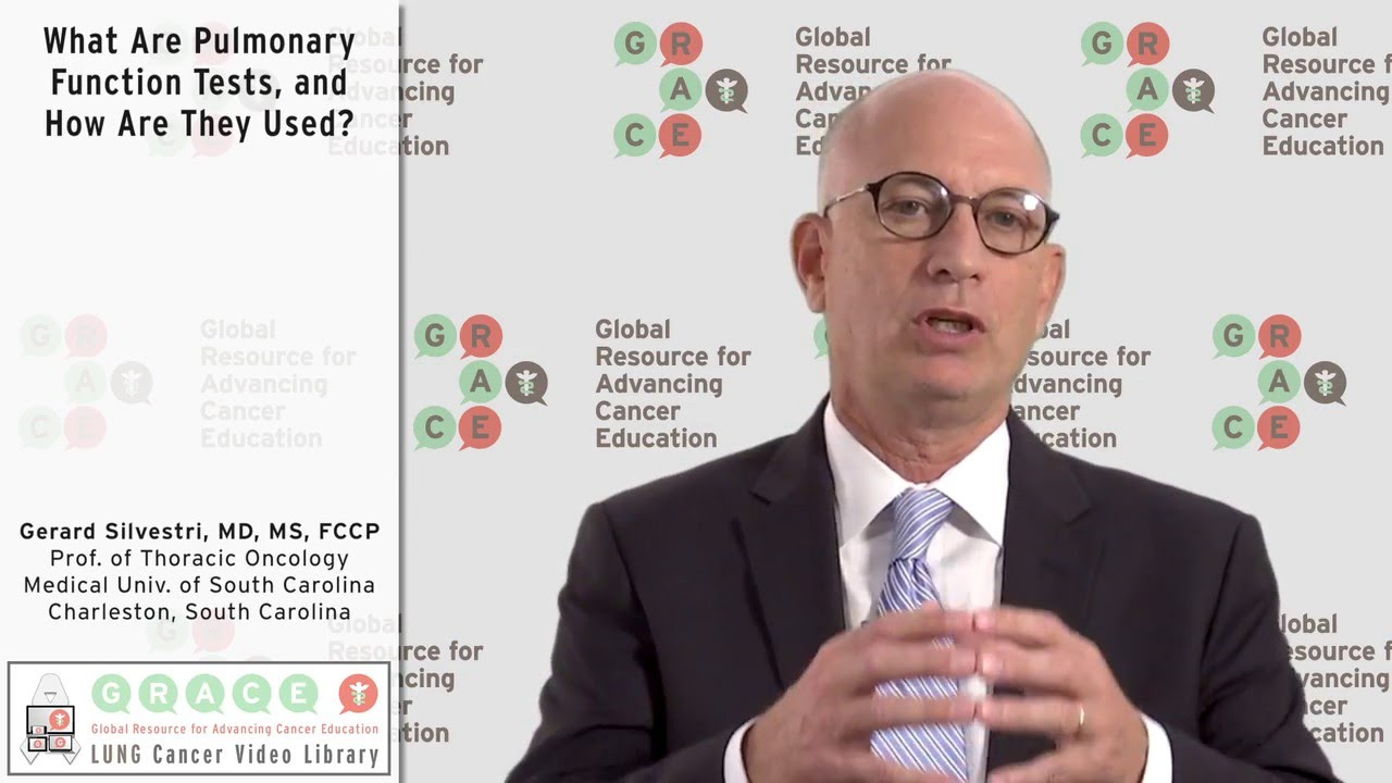 Embedded thumbnail for Lung Cancer Video Library - What Are Pulmonary Function Tests, and How Are They Used?