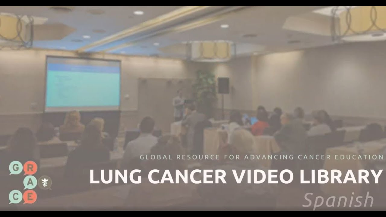 Embedded thumbnail for Spanish Lung Cancer Video Library - Rodriguez - Immunotherapy Combinations for Advanced NSCLC, 2020 Update