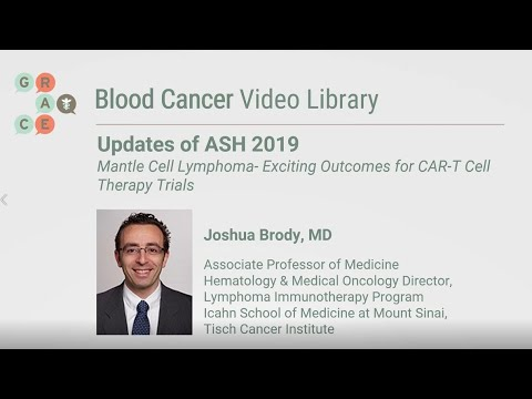 Embedded thumbnail for Blood Cancer Video Library - Brody - Mantle Cell Lymphoma - Outcomes CAR T Cell Therapy Trials