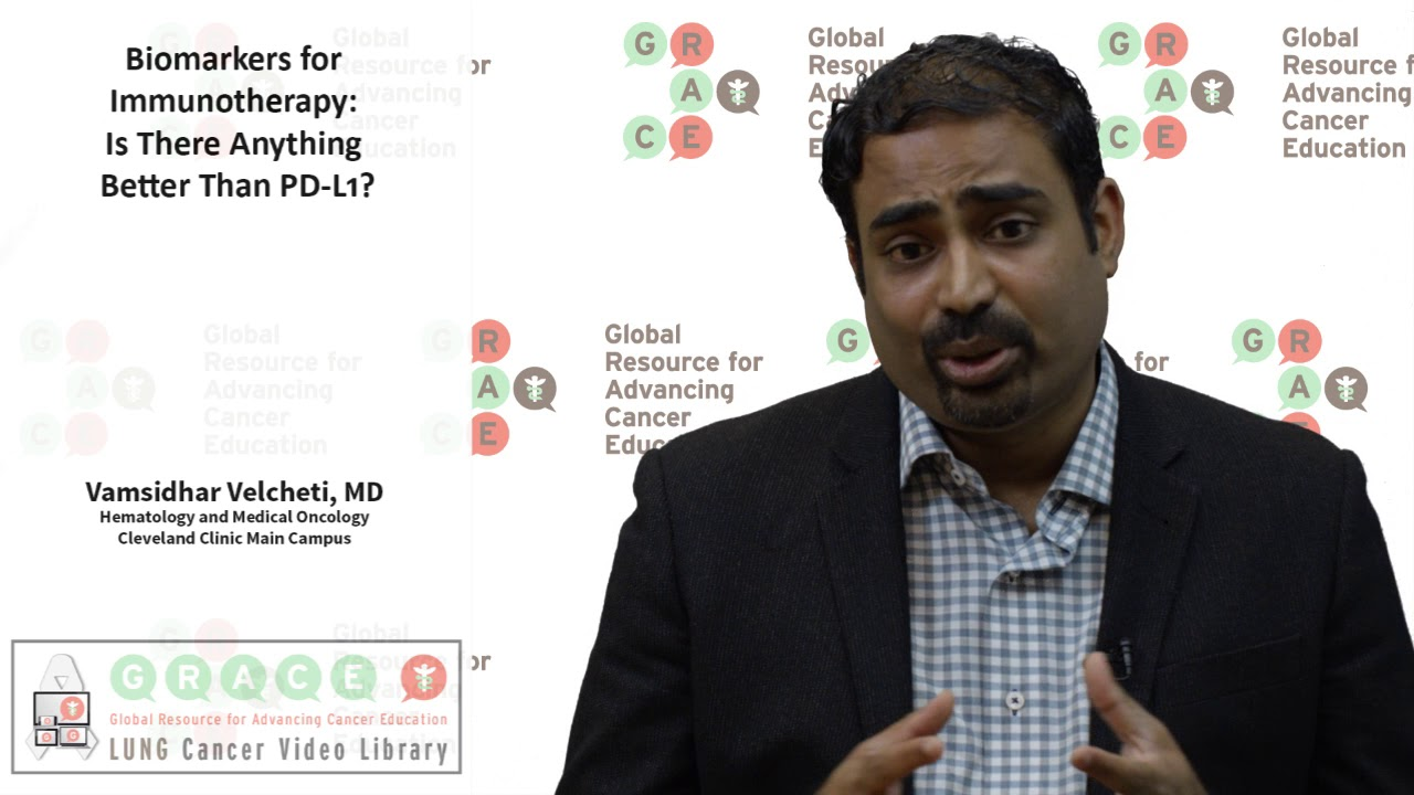 Embedded thumbnail for Lung Cancer Video Library - Biomarkers for Immunotherapy Is There Anything Better Than PDL1