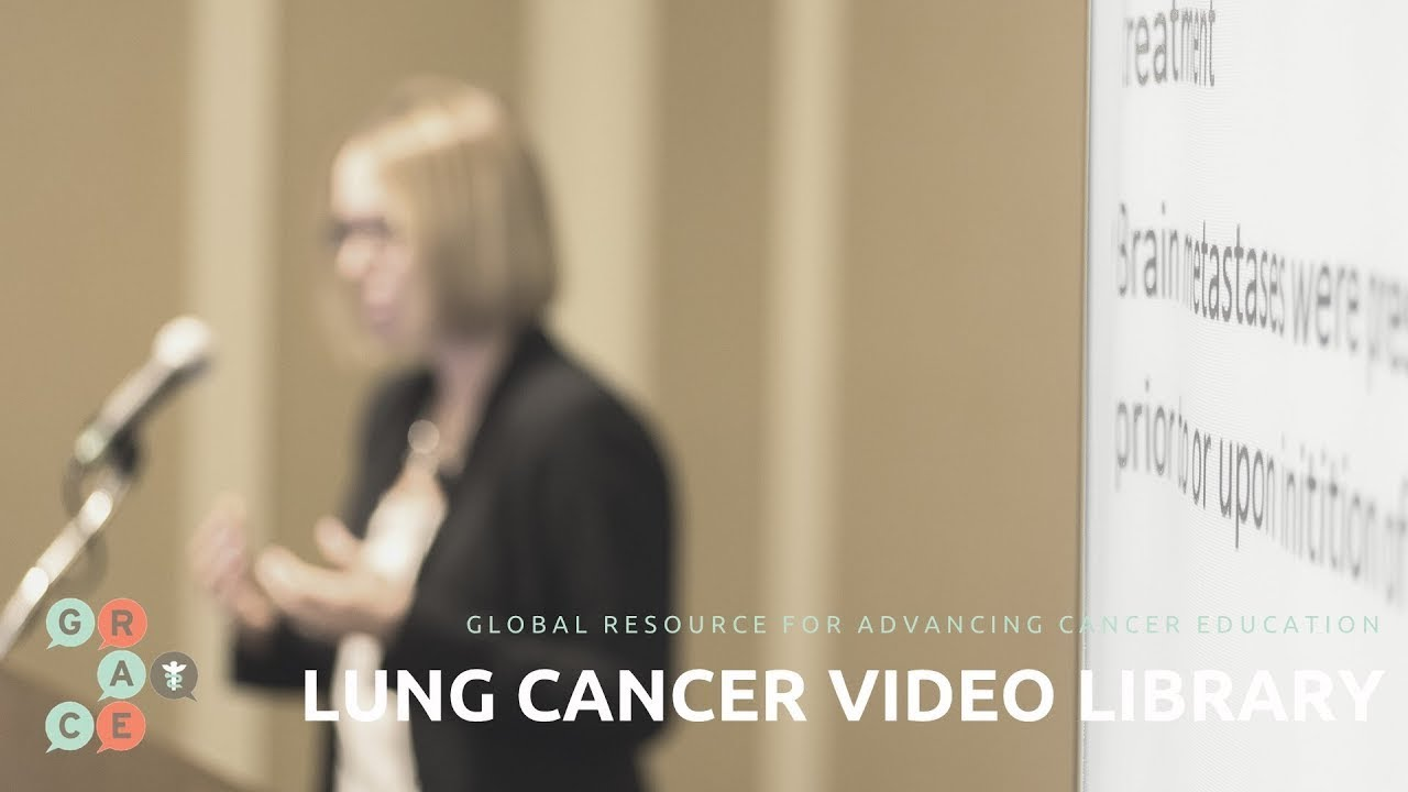 Embedded thumbnail for Lung Cancer Video Library - AGGARWAL - Utility of Liquid Biopsies