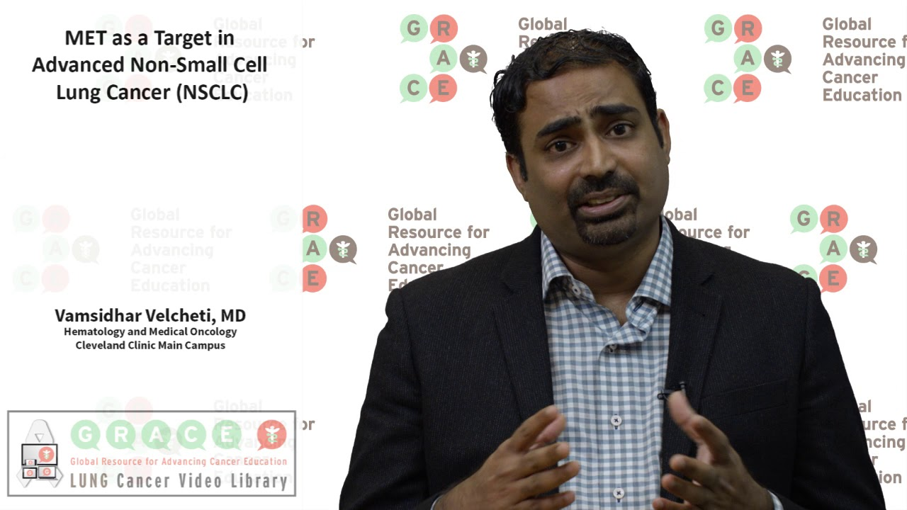 Embedded thumbnail for Lung Cancer Video Library - MET as a Target in Advanced NSCLC