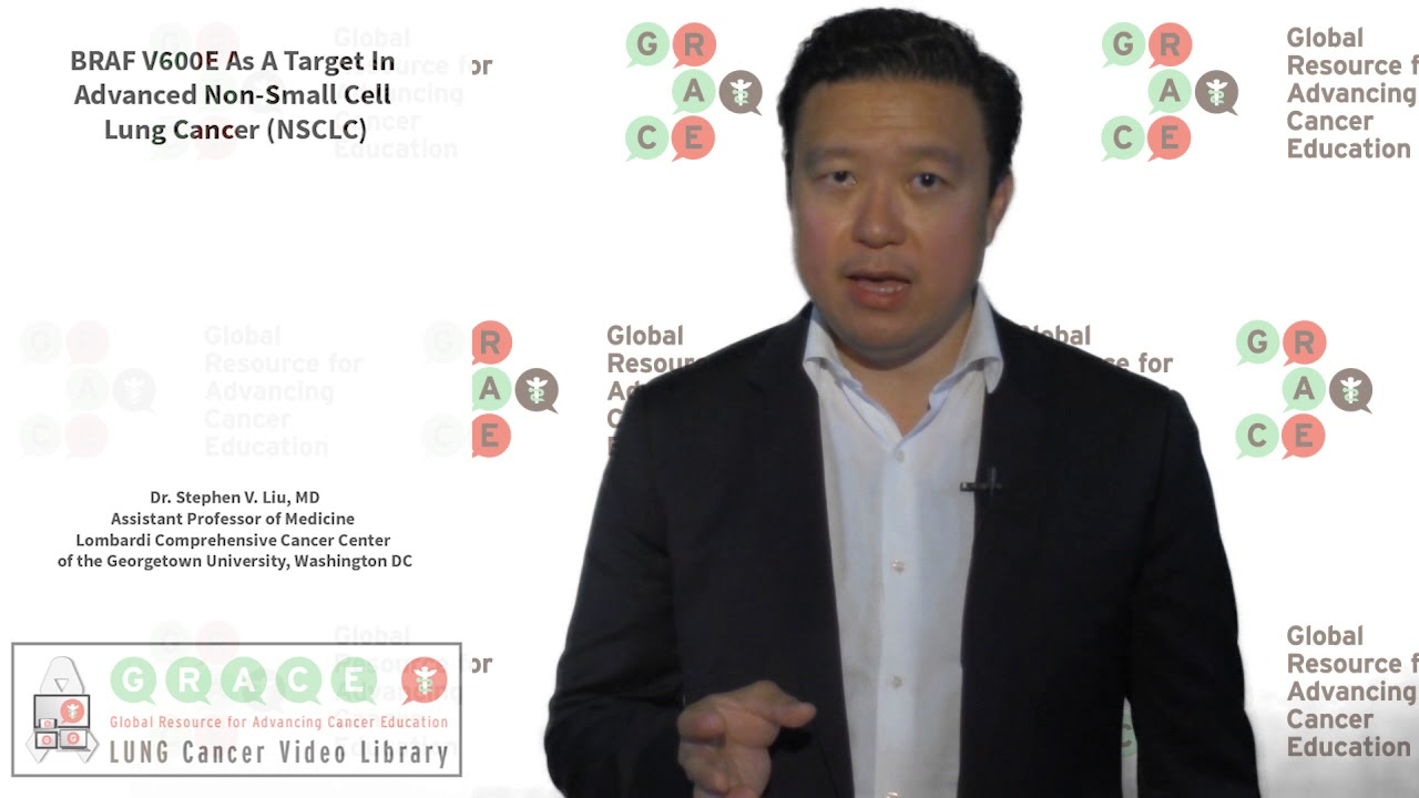 Embedded thumbnail for Lung Cancer Video Library - BRAF V600E As A Target In Advanced Non-Small Cell Lung Cancer
