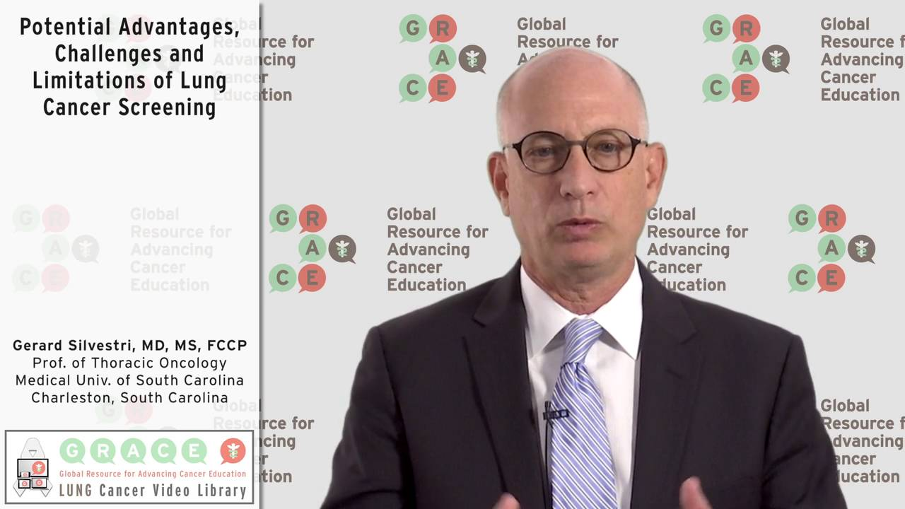 Embedded thumbnail for Lung Cancer Video Library - Potential Advantages, Disadvantages and Limitations of Lung Cancer Screening