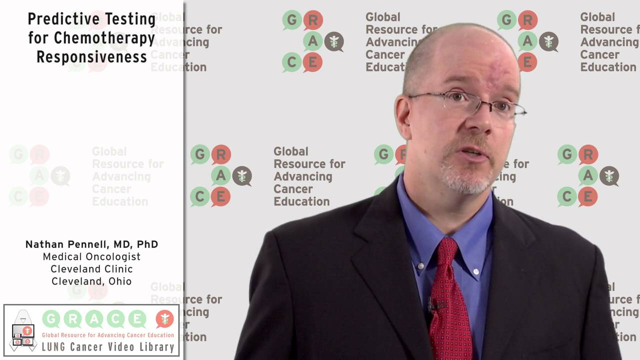 Embedded thumbnail for Lung Cancer Video Library - Predictive Testing for Chemotherapy Responsiveness