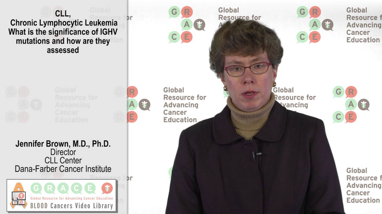 Embedded thumbnail for Blood Cancer Video Library - What Is The Significance Of IGHV Mutations And How Are They Assessed?