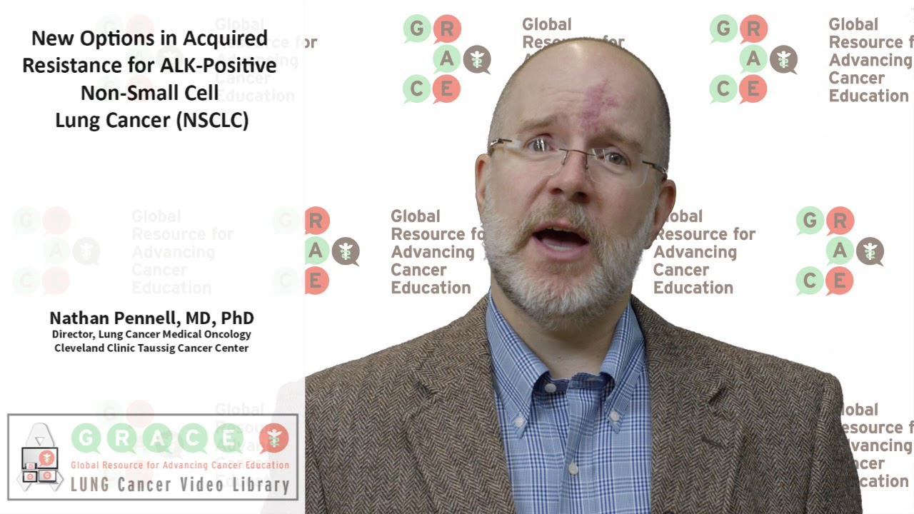 Embedded thumbnail for Lung Cancer Video Library 2017 -  New Options in Acquired Resistance for ALK Positive Non-small Cell Lung Cancer (NSCLC)