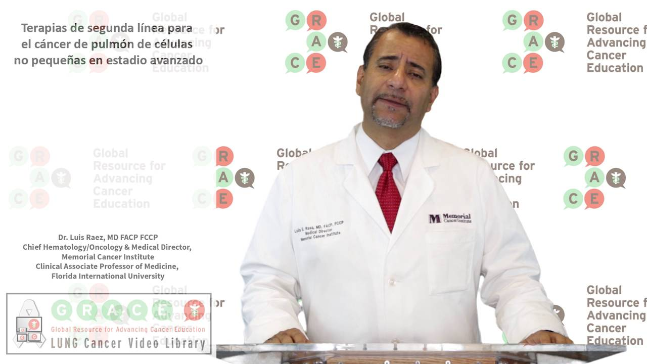 Embedded thumbnail for Lung Cancer Video Library - Spanish Language: Video #25 Second-line Therapies for Advanced NSCLC