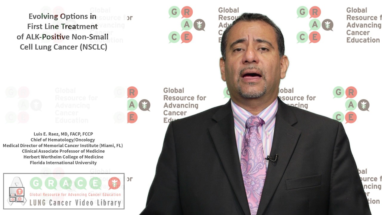 Embedded thumbnail for Lung Cancer Video Library - Evolving Options in First Line Treatment of ALK-Positive Non-Small Cell Lung Cancer (NSCLC)