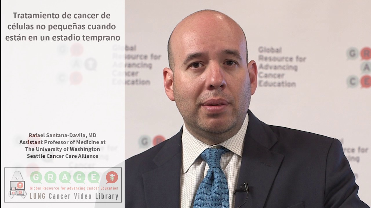 Embedded thumbnail for Lung Cancer Video Library - Spanish Language: Video #43 The Treatment of Early Stage Non-Small Cell Lung Cancer