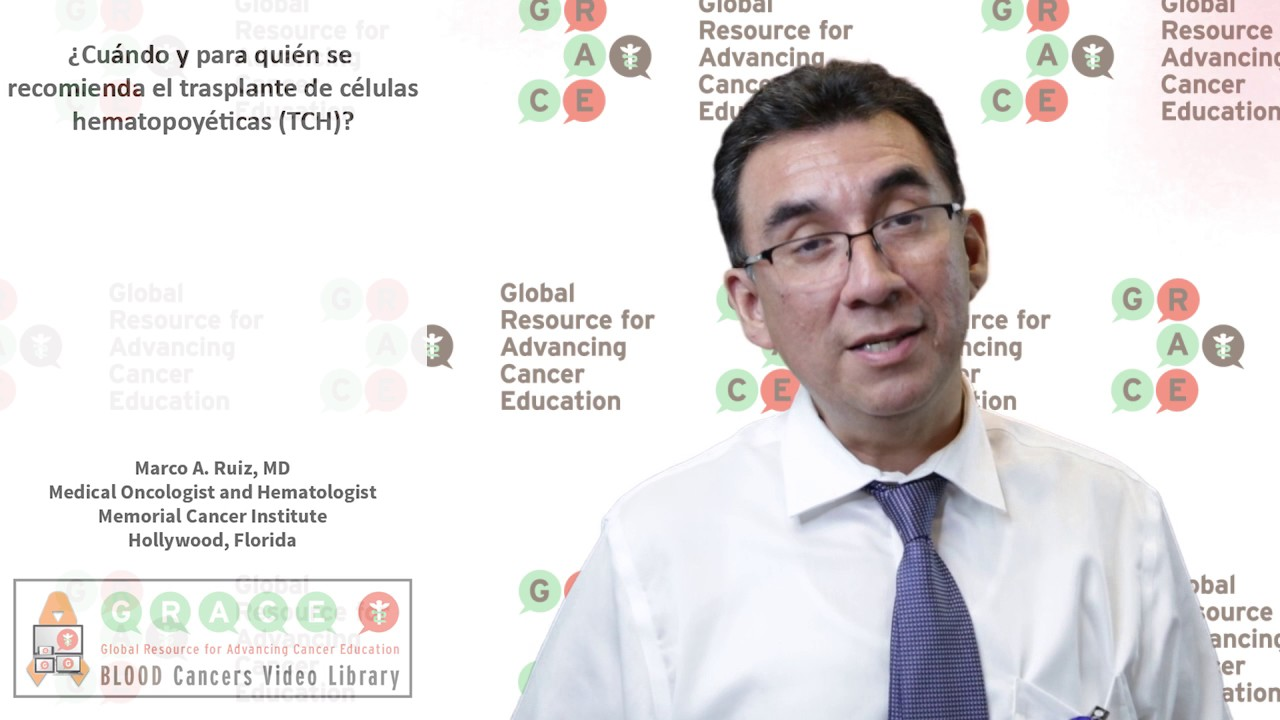 Embedded thumbnail for Spanish Blood Cancer Library - When and who to refer for hematopoietic cell transplantation (HCT)