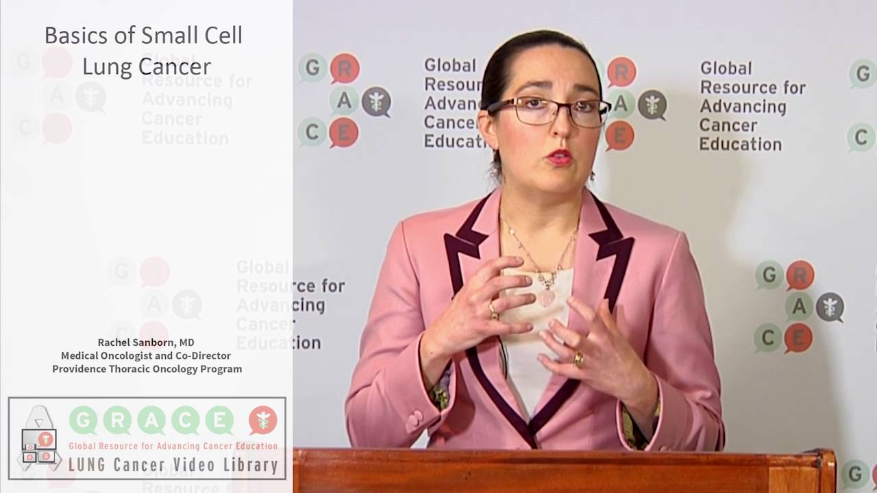 Embedded thumbnail for Lung Cancer Video Library - Basics of Small Cell Lung Cancer