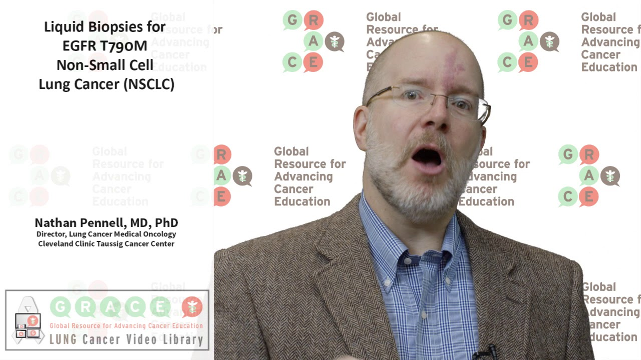 Embedded thumbnail for Lung Cancer Video Library 2017 - Liquid Biopsies for EGFR T790M Non Small Cell Lung Cancer