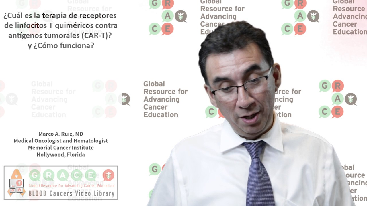 Embedded thumbnail for Spanish Blood Cancer Library - What is the chimeric T cell receptors treatment against tumoral antigens (CAR-T)? and how does it work?