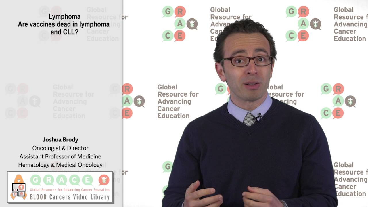 Embedded thumbnail for Blood Cancers Video Library: Are Vaccines Dead in Lymphoma and CLL?