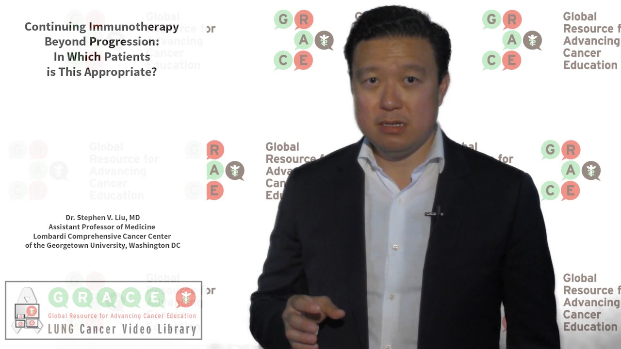 Embedded thumbnail for Lung Cancer Video Library - Continuing Immunotherapy Beyond Progression In Which Patients Is This Appropriate