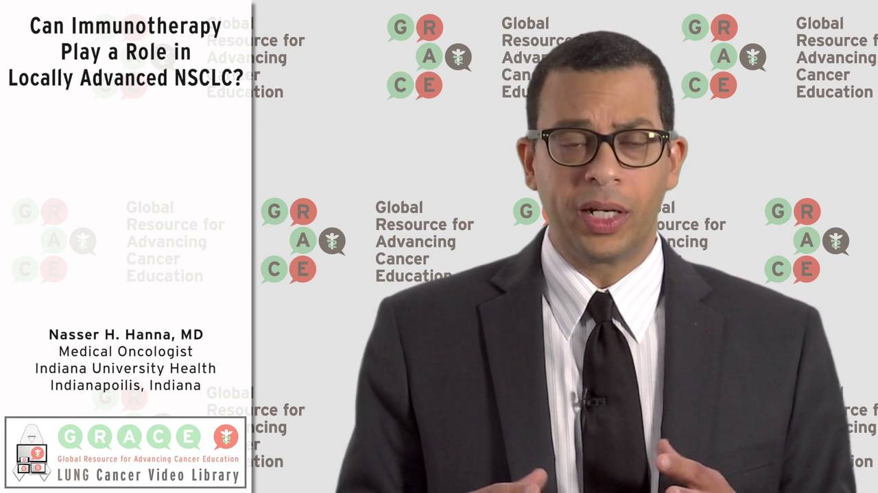 Embedded thumbnail for Can Immunotherapy Play a Role in Locally Advanced NSCLC?