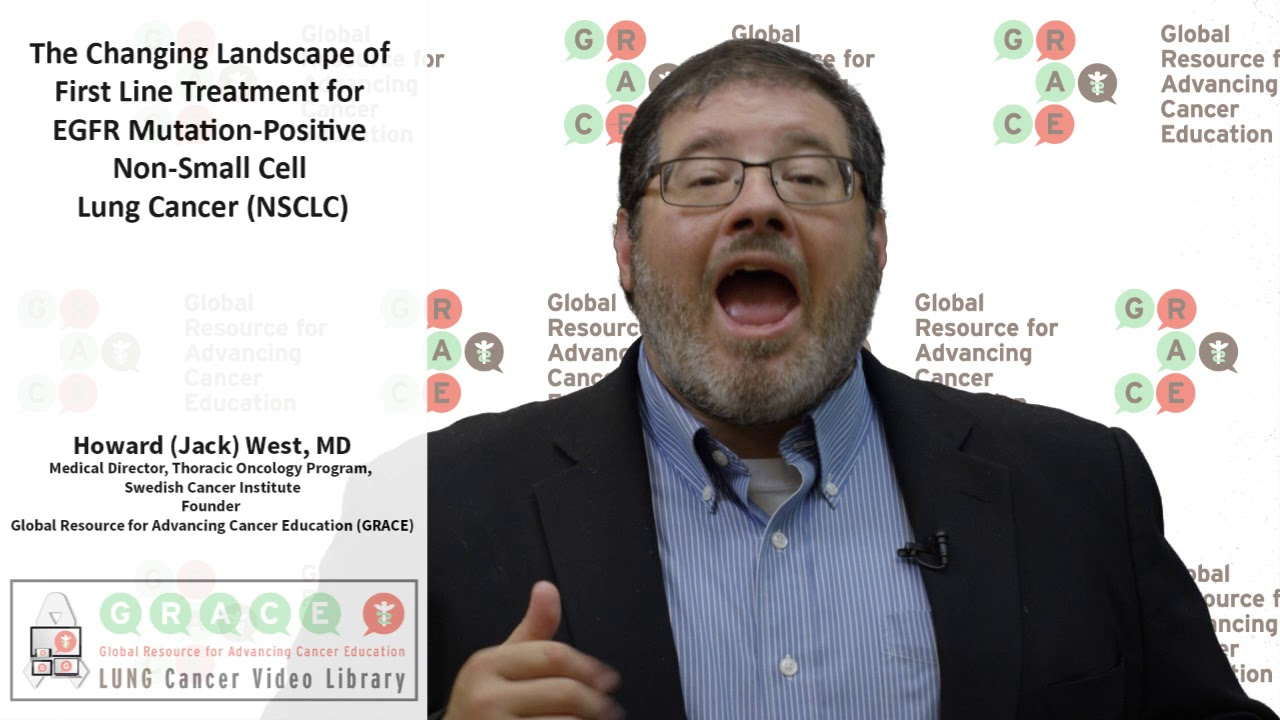 Embedded thumbnail for Lung Cancer Video Library -  2017 The Changing Landscape of First Line Treatment for EGFR Mutation-Positive NSCLC
