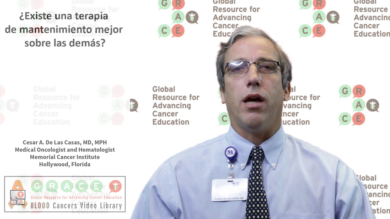 Embedded thumbnail for Spanish Blood Cancer Library - Is there a best maintenance therapy?