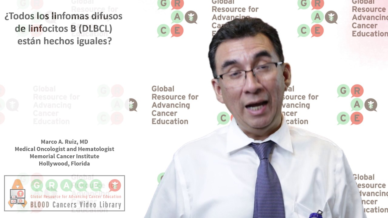 Embedded thumbnail for Spanish Blood Cancer Library - Are all diffuse large B-cell lymphoma (DLBCL) made equally?