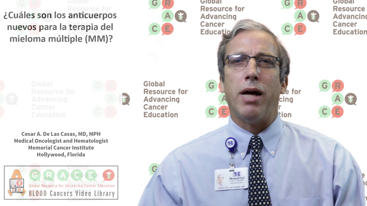 Embedded thumbnail for Spanish Blood Cancer Library - What are the new antibodies for multiple myeloma (MM) therapy?