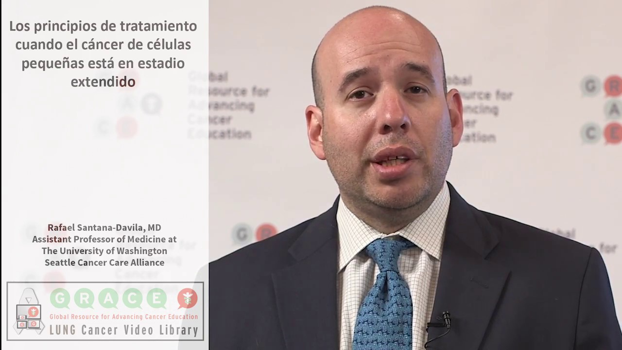 Embedded thumbnail for Lung Cancer Video Library - Spanish Language: Video #40 The General Approach to Extensive Stage Small Cell Cancer