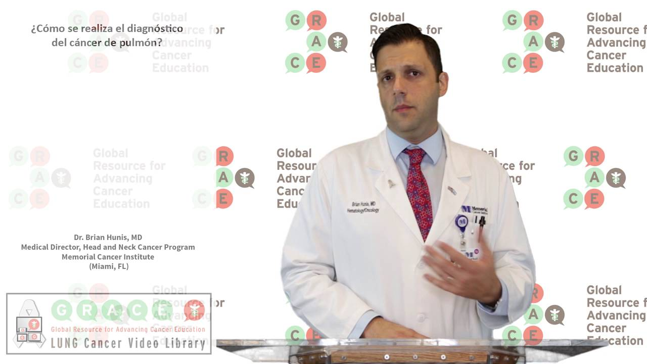 Embedded thumbnail for Lung Cancer Video Library - Spanish Language: Video #10 How a Lung Cancer Diagnosis is Made