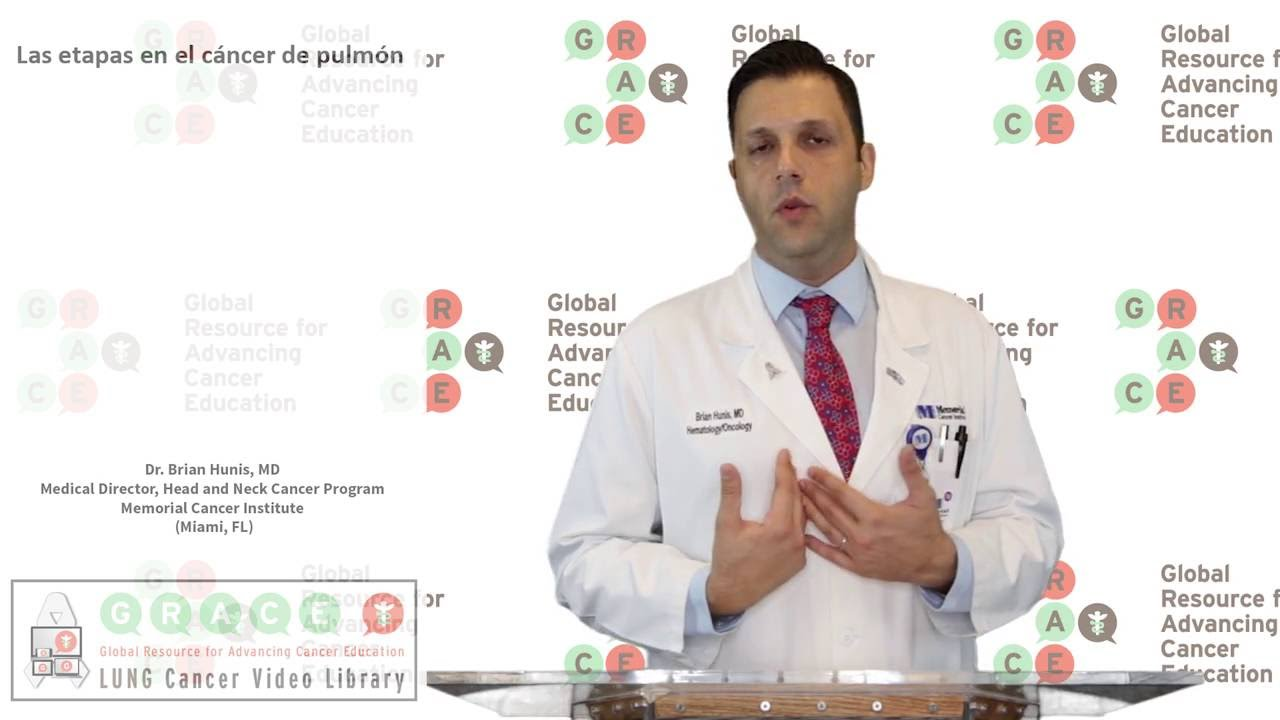 Embedded thumbnail for Lung Cancer Video Library - Spanish Language: Video #13 Lung Cancer Stages